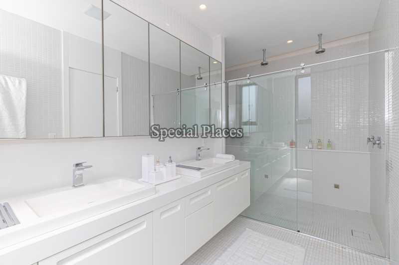 BANHEIRO SUÍTE MASTER  - Casa em Condomínio 4 quartos à venda Barra da Tijuca, Rio de Janeiro - R$ 7.500.000 - BAC6233 - 30