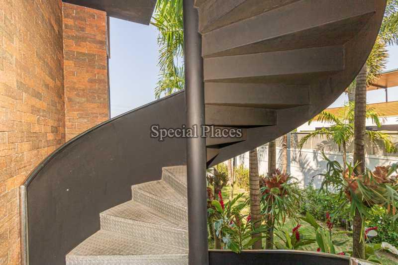 ESCADA  - Casa em Condomínio 4 quartos à venda Barra da Tijuca, Rio de Janeiro - R$ 7.500.000 - BAC6233 - 7
