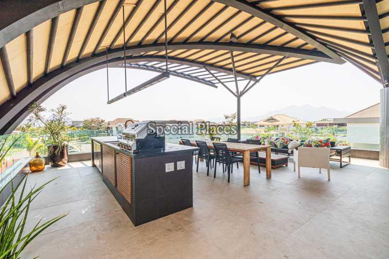 ÁREA GOURMET - Casa em Condomínio 4 quartos à venda Barra da Tijuca, Rio de Janeiro - R$ 7.500.000 - BAC6233 - 10
