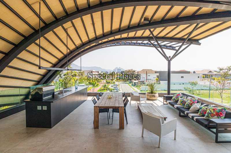 ÁREA GOURMET - Casa em Condomínio 4 quartos à venda Barra da Tijuca, Rio de Janeiro - R$ 7.500.000 - BAC6233 - 11