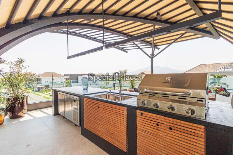 CHURRASQUEIRA  - Casa em Condomínio 4 quartos à venda Barra da Tijuca, Rio de Janeiro - R$ 7.500.000 - BAC6233 - 12
