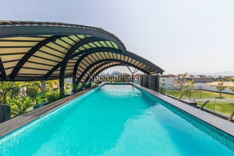 PISCINA RAIA  - Casa em Condomínio 4 quartos à venda Barra da Tijuca, Rio de Janeiro - R$ 7.500.000 - BAC6233 - 8