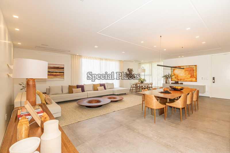 SALÃO - Casa em Condomínio 4 quartos à venda Barra da Tijuca, Rio de Janeiro - R$ 7.500.000 - BAC6233 - 16