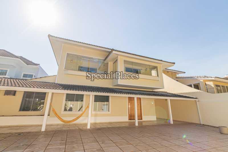 FACHADA  - Casa em Condomínio 4 quartos à venda Barra da Tijuca, Rio de Janeiro - R$ 3.000.000 - BAC2480 - 1