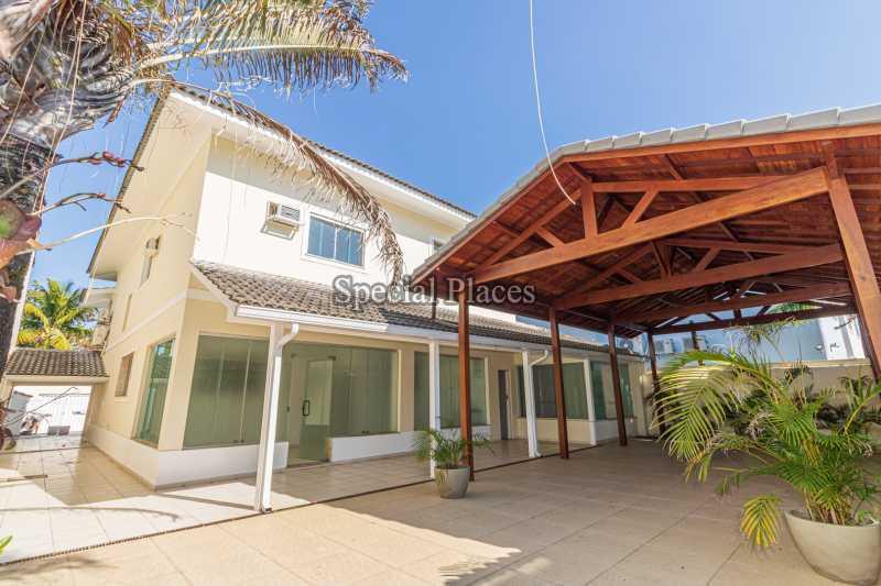 FACHADA ATRÁS  - Casa em Condomínio 4 quartos à venda Barra da Tijuca, Rio de Janeiro - R$ 3.000.000 - BAC2480 - 3