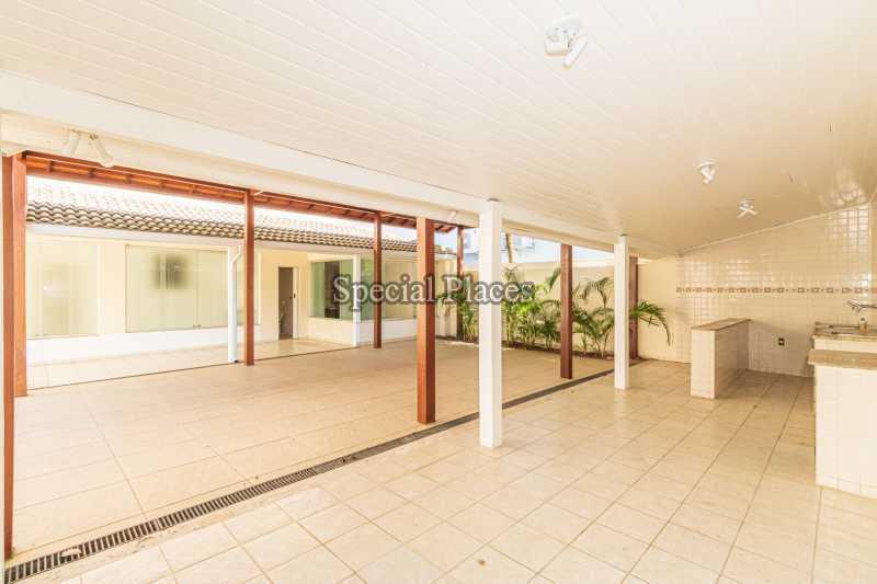 ÁREA ATRÁS DA CASA  - Casa em Condomínio 4 quartos à venda Barra da Tijuca, Rio de Janeiro - R$ 3.000.000 - BAC2480 - 4