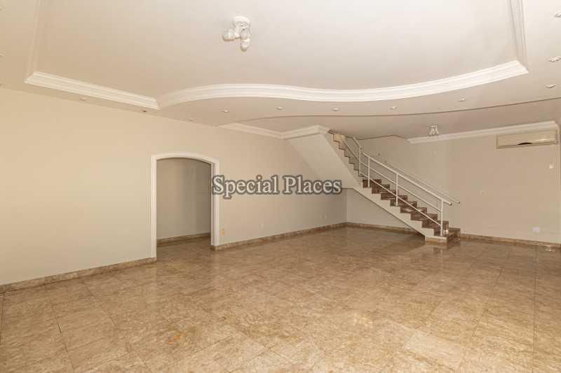 SALÃO  - Casa em Condomínio 4 quartos à venda Barra da Tijuca, Rio de Janeiro - R$ 3.000.000 - BAC2480 - 9