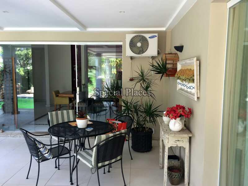 SALA - Casa em Condomínio 4 quartos à venda Itanhangá, Rio de Janeiro - R$ 4.200.000 - BAC3057 - 14