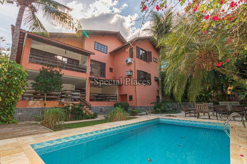 FACHADA - Casa em Condomínio 4 quartos à venda Itanhangá, Rio de Janeiro - R$ 3.200.000 - BAC3340 - 1