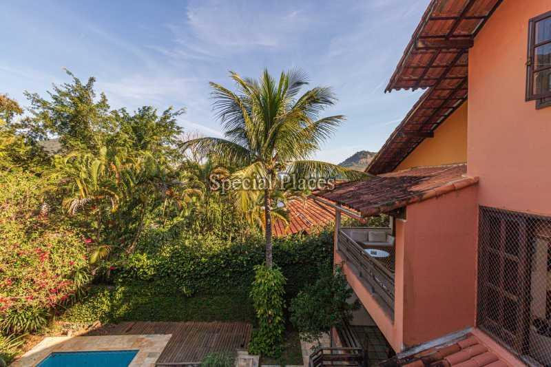 FACHADA  - Casa em Condomínio 4 quartos à venda Itanhangá, Rio de Janeiro - R$ 3.200.000 - BAC3340 - 3