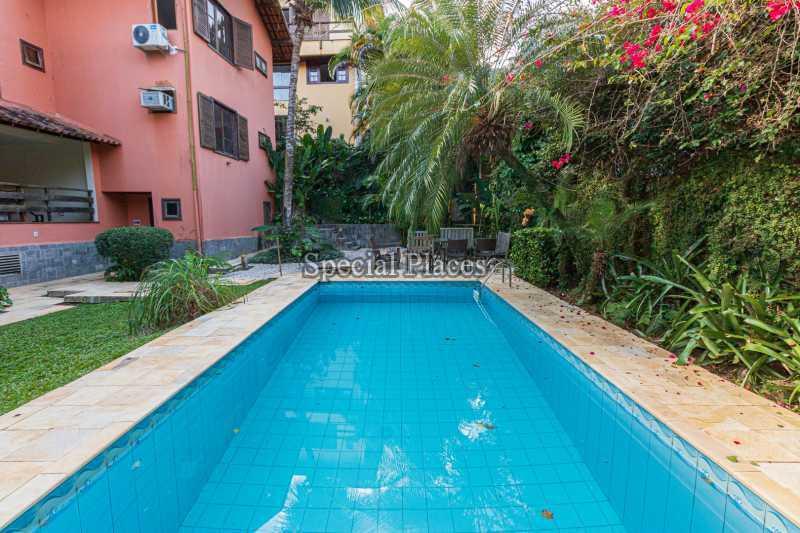 PISCINA  - Casa em Condomínio 4 quartos à venda Itanhangá, Rio de Janeiro - R$ 3.200.000 - BAC3340 - 8