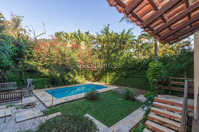 PISCINA  - Casa em Condomínio 4 quartos à venda Itanhangá, Rio de Janeiro - R$ 3.200.000 - BAC3340 - 10