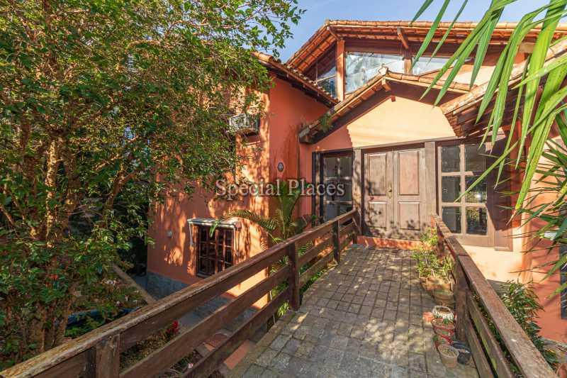 ENTRADA CASA  - Casa em Condomínio 4 quartos à venda Itanhangá, Rio de Janeiro - R$ 3.200.000 - BAC3340 - 11