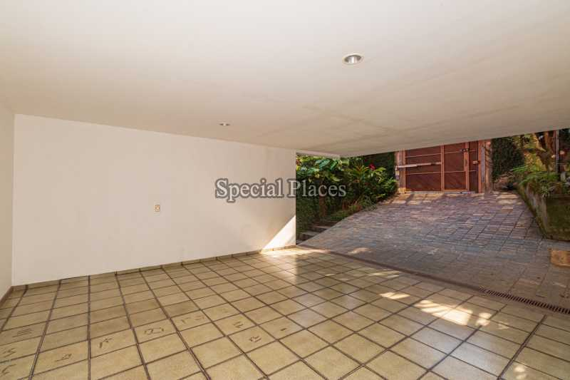 GARAGEM  - Casa em Condomínio 4 quartos à venda Itanhangá, Rio de Janeiro - R$ 3.200.000 - BAC3340 - 12