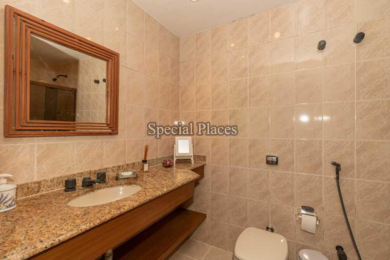 BANHEIRO  - Casa em Condomínio 4 quartos à venda Itanhangá, Rio de Janeiro - R$ 3.200.000 - BAC3340 - 16