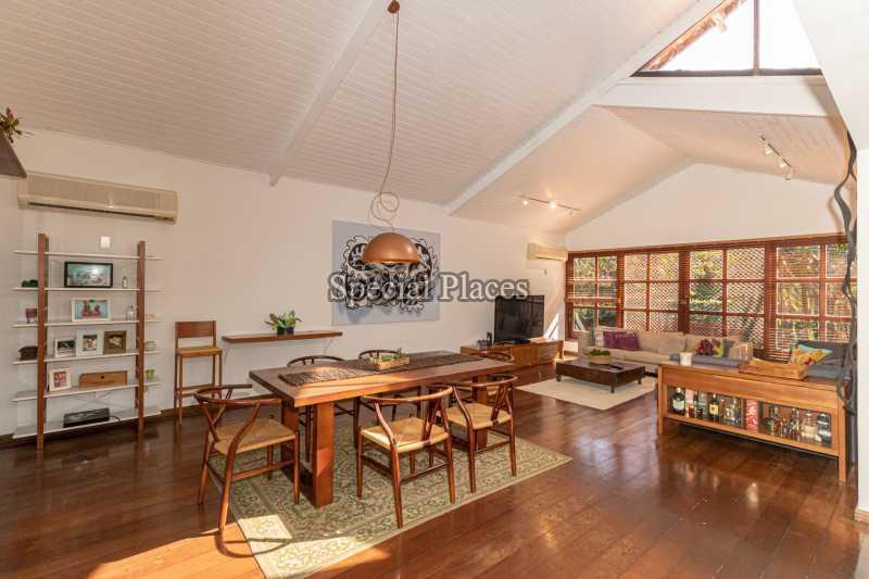 SALÃO  - Casa em Condomínio 4 quartos à venda Itanhangá, Rio de Janeiro - R$ 3.200.000 - BAC3340 - 17