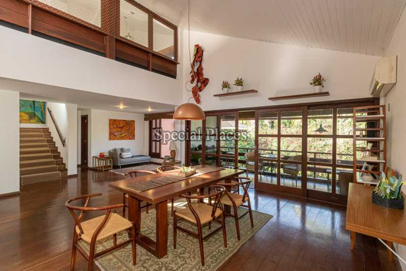 SALA DE JANTAR  - Casa em Condomínio 4 quartos à venda Itanhangá, Rio de Janeiro - R$ 3.200.000 - BAC3340 - 18
