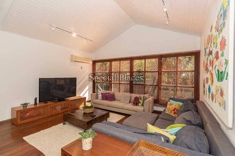 SALA ESTAR  - Casa em Condomínio 4 quartos à venda Itanhangá, Rio de Janeiro - R$ 3.200.000 - BAC3340 - 19