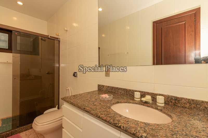 BANHEIRO SUÍTE 1  - Casa em Condomínio 4 quartos à venda Itanhangá, Rio de Janeiro - R$ 3.200.000 - BAC3340 - 22