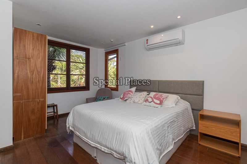 SUÍTE PRINCIPAL  - Casa em Condomínio 4 quartos à venda Itanhangá, Rio de Janeiro - R$ 3.200.000 - BAC3340 - 25