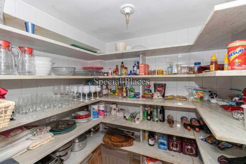 DISPENSA  - Casa em Condomínio 4 quartos à venda Itanhangá, Rio de Janeiro - R$ 3.200.000 - BAC3340 - 31