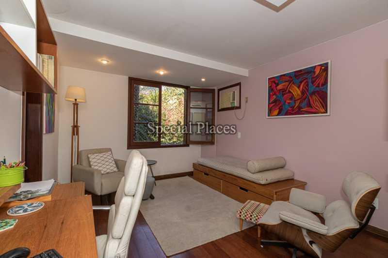 ESCRITÓRIO  - Casa em Condomínio 4 quartos à venda Itanhangá, Rio de Janeiro - R$ 3.200.000 - BAC3340 - 15