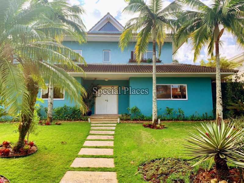 1. - Casa em Condomínio 6 quartos à venda Barra da Tijuca, Rio de Janeiro - R$ 7.900.000 - BAC3436 - 1