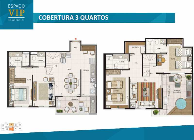 plantas 5 - Fachada - Espaço Vip Residencial - 1002 - 26