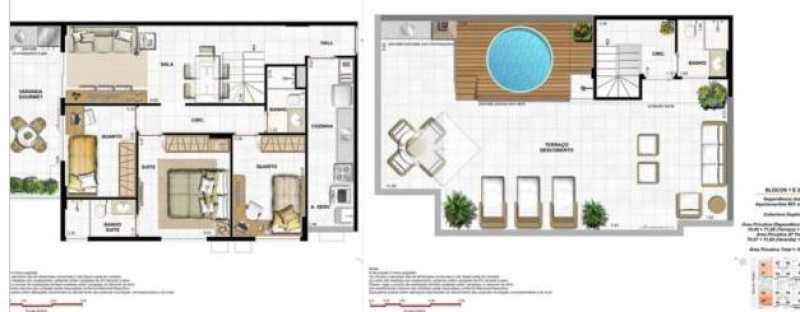 Plantas 1 - Fachada - Native Residences - 1017 - 12