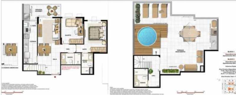 Plantas 7 - Fachada - Native Residences - 1017 - 18