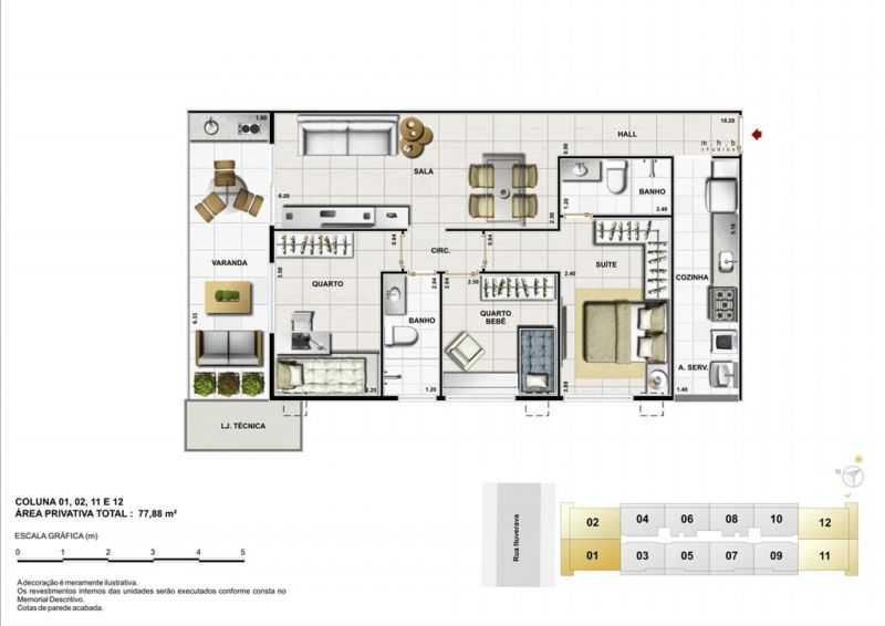 42581 - Fachada - Jazz Harmony Residences - 416 - 25