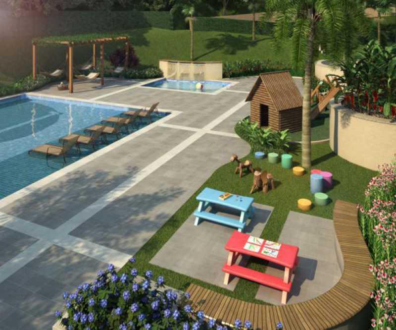 persperctiva 5 - Fachada - Magic Garden Houses - 443 - 14