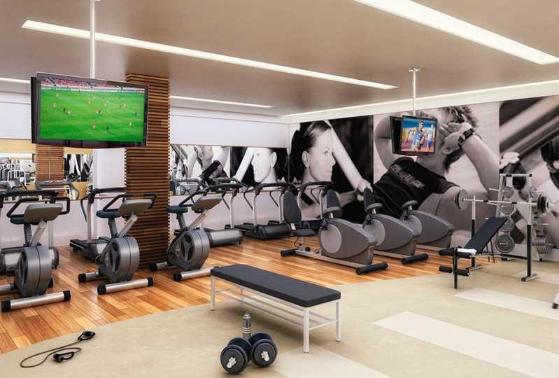 fitness - Fachada - Brise Condomínio Club - 957 - 12