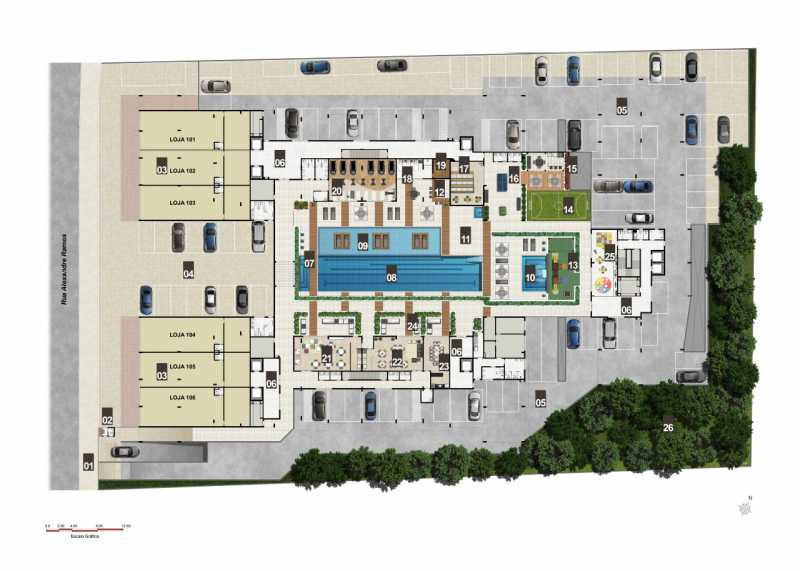 masterplan - Fachada - Brise Condomínio Club - 957 - 23