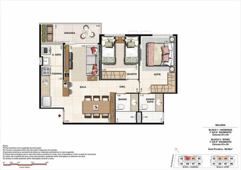 PLANTAS 3 - Fachada - Melodia Condomínio e Lazer - 969 - 19