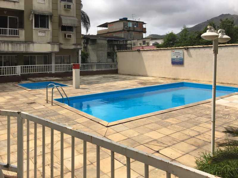 01 - Apartamento 3 quartos para venda e aluguel Praça Seca, Rio de Janeiro - R$ 220.000 - FRAP30441 - 3