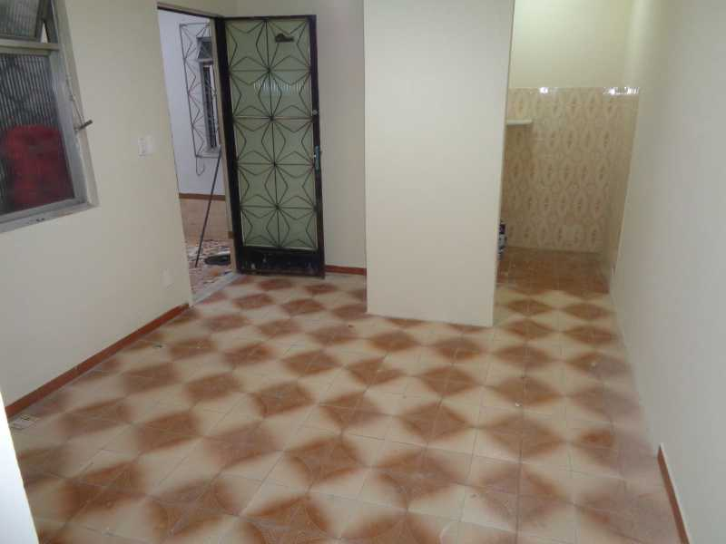 DSC01091 - Casa de Vila Cachambi, Rio de Janeiro, RJ Para Alugar, 1 Quarto, 48m² - MECV10004 - 3
