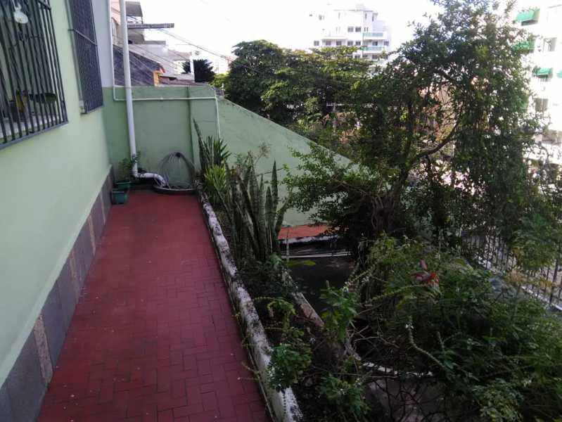2 - VARANDA. - Casa de Vila Engenho de Dentro, Rio de Janeiro, RJ À Venda, 3 Quartos, 145m² - MECV30034 - 6
