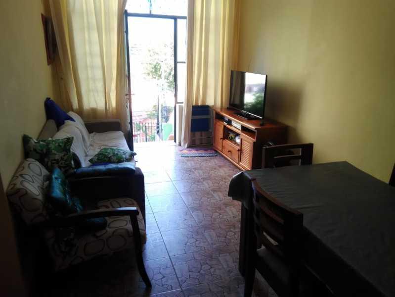 6 - SALA. - Casa de Vila Engenho de Dentro, Rio de Janeiro, RJ À Venda, 3 Quartos, 145m² - MECV30034 - 1