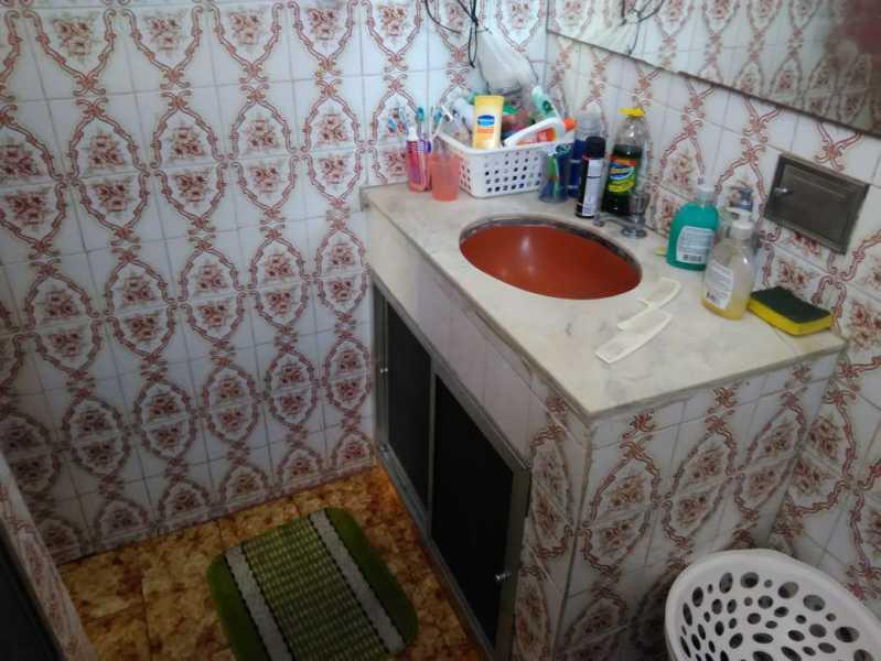 19 - BANHEIRO SOCIAL. - Casa de Vila Engenho de Dentro, Rio de Janeiro, RJ À Venda, 3 Quartos, 145m² - MECV30034 - 28