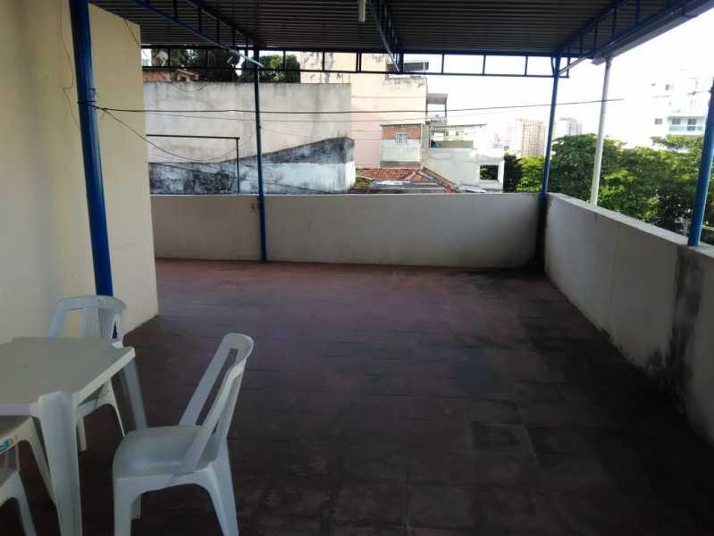 29 - TERRAÇO. - Casa de Vila Engenho de Dentro, Rio de Janeiro, RJ À Venda, 3 Quartos, 145m² - MECV30034 - 23