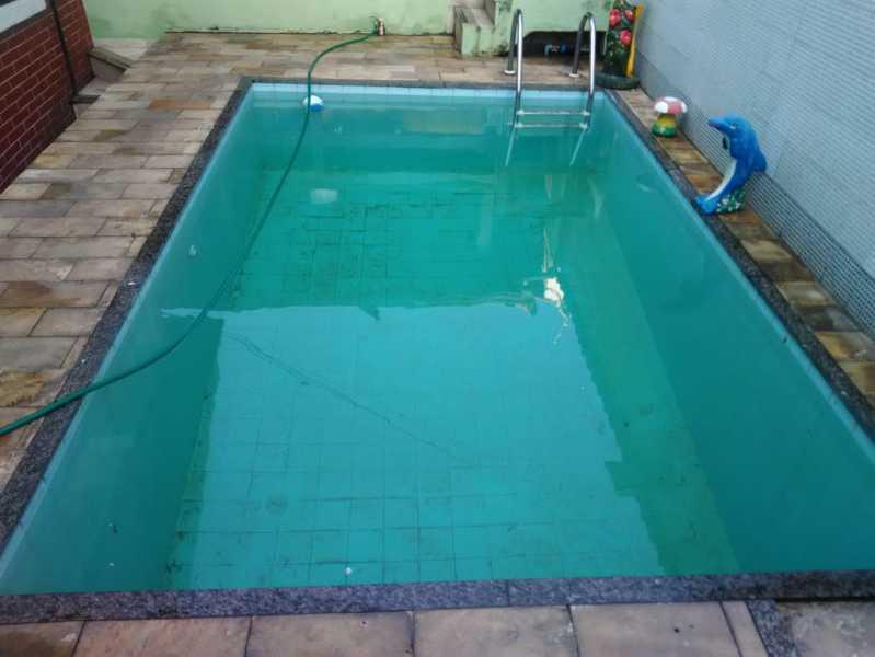 1 - piscina. - Casa À Venda - Riachuelo - Rio de Janeiro - RJ - MECA30024 - 1