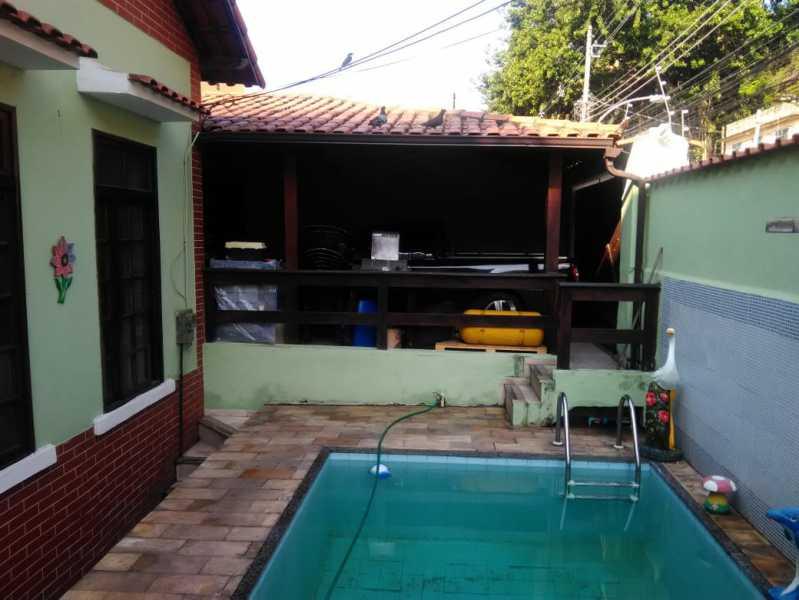 2 - quintal. - Casa À Venda - Riachuelo - Rio de Janeiro - RJ - MECA30024 - 3