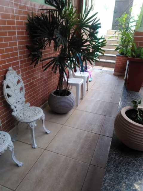 7 - varanda. - Casa À Venda - Riachuelo - Rio de Janeiro - RJ - MECA30024 - 7