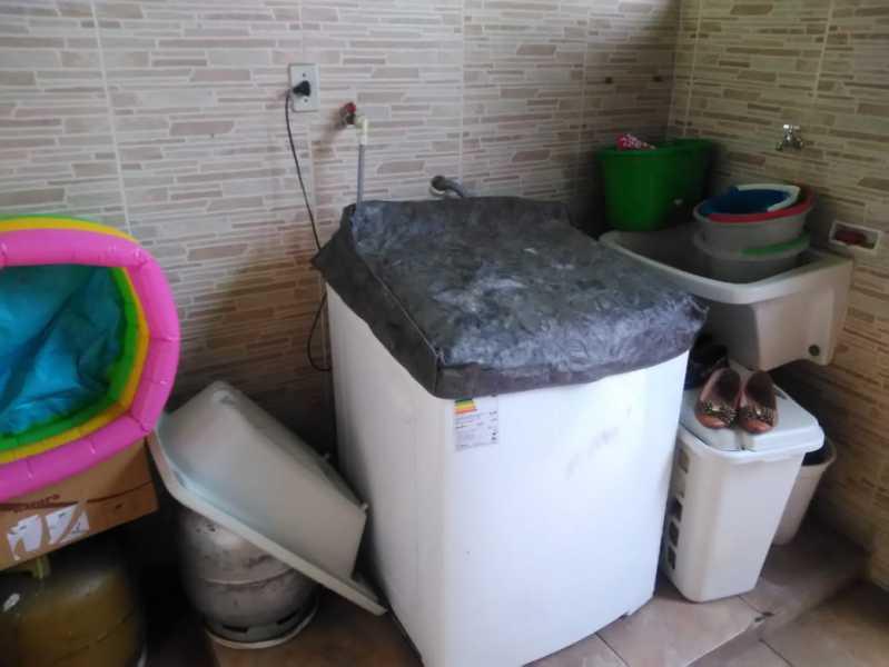 25 - área de serviço. - Casa À Venda - Riachuelo - Rio de Janeiro - RJ - MECA30024 - 25