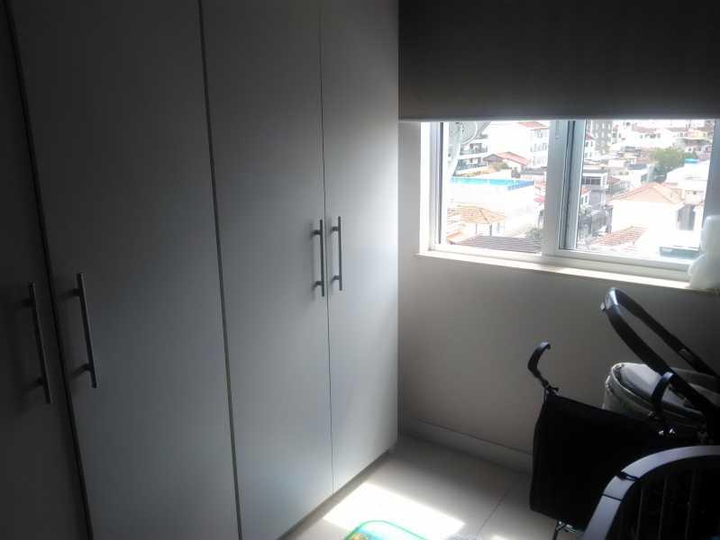 7 - QUARTO 1 - Apartamento Andaraí,Rio de Janeiro,RJ À Venda,2 Quartos,89m² - MEAP20784 - 8