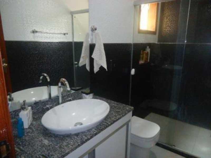 BANHEIRO SOCIAL - Casa em Condominio Anil,Rio de Janeiro,RJ À Venda,3 Quartos,118m² - FRCN30126 - 5