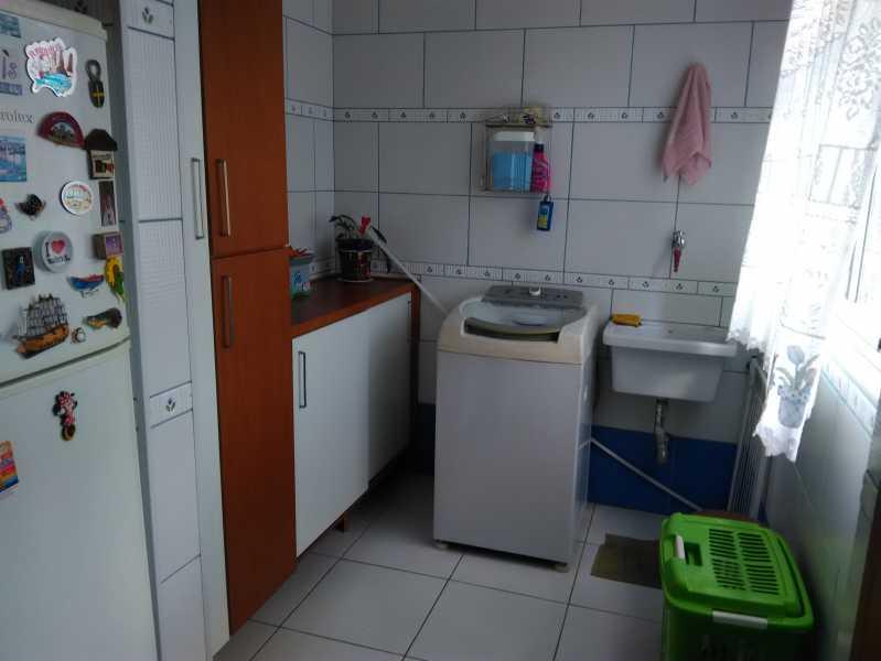 20 - ÁREA DE SERVIÇO - Apartamento À Venda - Engenho de Dentro - Rio de Janeiro - RJ - MEAP20838 - 22