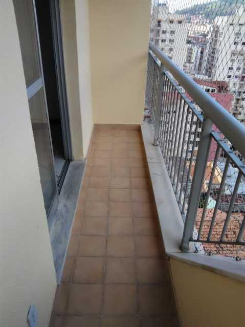 6 - varanda sala. - Apartamento 2 quartos à venda Lins de Vasconcelos, Rio de Janeiro - R$ 263.000 - MEAP20878 - 7