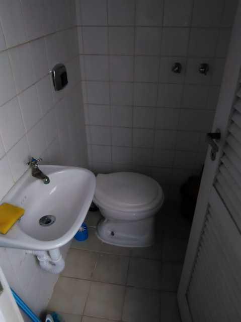 23 - banheiro de serviço. - Apartamento 2 quartos à venda Lins de Vasconcelos, Rio de Janeiro - R$ 263.000 - MEAP20878 - 24